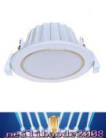 Дешевый 12 панель-системы солнечной энергии 12 вольт 5W Downlight / 7W Downlight Яркий утопленные потолочные панели вниз электрической лампочки Бесплатная доставка MYY