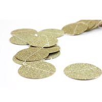 Wholesale Gold Sparkly Glitter Circle Paper Garland DIY Confetti Garland for Decoration Wedding Decor Bridal Shower Birthday