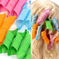 Wholesale DIY MAGIC LEVERAG Magic Hair Curler Roller Magic Circle Hair Styling Rollers Curlers Leverag perm from pricetag