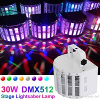 auto voice - Night bar LED effects lights DMX512 W Stage Lighting voice control IR Remote colors Lightsaber laser light DJ ballroom party lights
