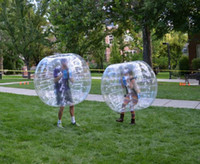 Wholesale m diameter mm TPU inflatable bubble soccer bubble football bubble sports bumper ball knocker ball