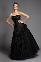 art gothic - Sexy Victorian Gothic Prom Formal Dresses Black Elegant Dress Beading Corset Bodice Sheer Black Tiered Back Lace Up Evening Gowns