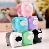 award package - 10pcs Cartoon Lovely Pig Pencil Sharpener Creative Stationery Pencil Stationery For Students Awards Desktop Gadgets Papelaria