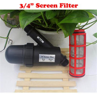 Wholesale Irrigation filter inch mesh m m Y Type Screen Filter Garden agriculture Greenhouse Water filter screen filter
