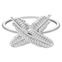Wholesale 10pcs New Arrive Beauty Leaf Rings Compatible Leaves Jewelry European Style Size Jewelry Women Fashion Gift