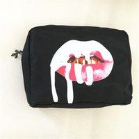Wholesale Newest Kylie Jenner Birthday Cosmetics Bags Kylie Bundle Bronze Creme Shadow Lip Kit Makeup Bag DHL Free