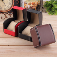 Wholesale Luxury Watch Box Display Case Gift Box For Watch Jewelry Storage Holder Leather Watch Box with Pillow Hot