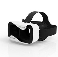 Wholesale VR BOX Version VR Virtual Reality D Glasses Headset for Iphone c s s Plus Samsung S6 S7 inch inch