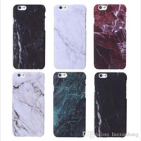 bag paintings - Phone Cases For iPhone p Case Marble Stone image Painted Cover Mobile Phone Bags Case For iphone6 S New Screen Protector