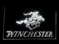 bar guns sale - b Winchester Firearms Gun Logo LED Sign Neon Light Sign Display Cheap signed guitars for sale