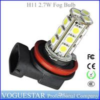 Wholesale H11 Fog LED Car bulb light LED lamp bulb H12 wholesales Car Truck light SMD5050 W LM AUP036