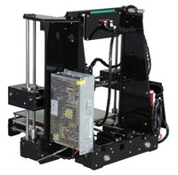 Wholesale High Quality Upgraded industrial D printer precision large sized dimensional DIY kit With m Filament Aluminum Hotbed LCD Free DHL