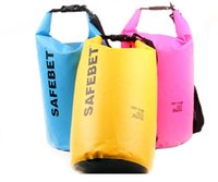 Wholesale 10L New Portable Waterproof Bag Storage Dry Bag for Canoe Kayak Rafting Sport Outdoor Organizer Travel Kit Equipment Raft Bag