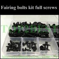 Wholesale Motorcycle Fairing screw bolts kit for HONDA CBR600RR CBR RR CBR RR black fairings aftermarket bolt screws set