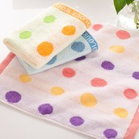 baby wipes manufacturers - 2016 Cotton Towel Manufacturers Color Circle Untwisted Cotton Towel Children Infant Baby Towel To Wipe Your Mouth HY1255