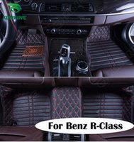 Wholesale Top Quality D Car Floor Mat For Benz R Class Foot Mat Car Foot Pad Colors Left Hand Driver Drop Shipping