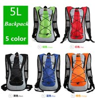 bicycle backpacking - 5L Outdoor water bag Sports Cycling Backpack Ultralight Hiking bags Climbing bag Travel Bicycle Backpacks Mochila