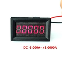 amp digits - quot Digits A DC Ammeter Digital amp Ampere panel Meter Red LED Electric Current Tester Gauge Built in Shunt