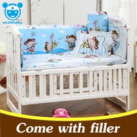 Wholesale 5PCS Set newborn baby bedding set cotton infant baby cot bedding set baby crib bumpers baby bed bumper patterns CP01