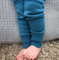 baby girl sweater tights - Baby Boys Girls Cotton Sweater Pants Children Autumn Leggings Knitted Pants For Girls Boys Winter new hight