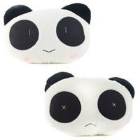 Wholesale 1 pair Cute Panda Shape Car Seat Head Neck Rest Cushion Car Neck Pillow
