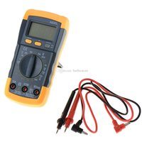 Wholesale LCD Auto Range AC DC Digital Voltmeter Ammeter OHM Multimeter Volt Tester B00235 FSDH