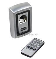 Wholesale Metal Case Fingerprint Door Lock Access Control Controller Kit Remote Control