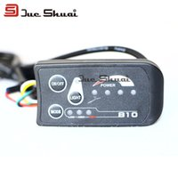 Wholesale 36V Electric Bike LED displayer computer Mode Display Wired Stopwatch Speedometer E Bike Computer Mount Bikes Handlebar Connect Controller