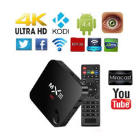 Wholesale MXIII MX3 K Quad Core Smart TV BOX Android KODI XBMC Fully Loaded WIFI GB