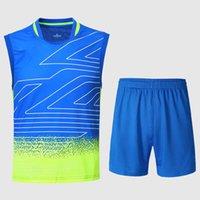 Wholesale New YY Badminton shirt Men s set Malaysia Lee Chong Wei Badminton Jerseys Badminton men s wear A