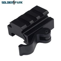 airsoft guns parts - Quick Release Tablets Increased Rail Guide Parts Guns Rail Picatinny Rail Airsoft Scope Accessory for Hunting Shooting Rifle Gun order lt no
