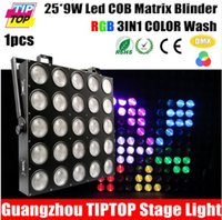 audience channel - Freeshipping W RGB IN1 LED Matrix X9W Blinder Light DMX DMX Channel X5 Stage Audience TIANXIN Scanner Light
