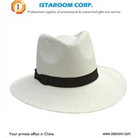 Wholesale 2016 fashion custom summer cowboy straw hat for women and man straw cowboy hat paper straw hat
