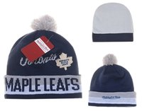 best gold leaf - Maple Leafs Hockey Beanies Team Hat Winter Caps Popular Beanie Caps Skull Caps Best Quality Sports Caps Allow Mix Order