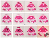 Wholesale Baby Suit Outfits Rompers headband shoes socks Leggings Sets Infant Mickey minnie Cartoon Rompers
