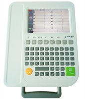 Wholesale Standard Leads Twelve Channel ECG Machine With Interpretation And Inch Color TFT LCD Display