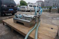 Wholesale Y2 Double head horizontal pneumatic liquid filling machine automatic filling machine Filling Machine single nozzle filler