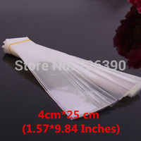 Wholesale 100pc cm inches White Clear Plastic OPP Bag Necklace Jewelry Packaging Poly Gift Packing Y1033