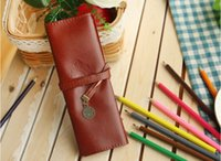 Wholesale Creative Stationery Twilinght Vintage Pencil Bag For School Suppliers