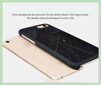best mobile laptops - Best and fashion mobile phone cases with retail package Natural Marble Material laptop true PC personalized phone covers for Iphone plus