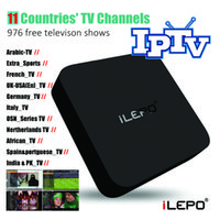 adult tv channels - IPTV smart tv box media player with countries tv channels free televison shows extra adult programmes RK3229 Quad Core G G Box