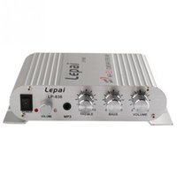 Wholesale 200W V Mini Hi Fi Car Amplifier Booster Radio MP3 Stereo for Car Motorcycle Home L