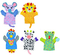 Wholesale New Arrival Baby Cartoon Bath Gloves Children Bath Rub Cuozao Towel Lion frog elephant cows chick Animal dezign