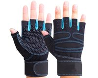 Wholesale Gsense Breathable Non slip Gloves Durable Half finger Gloves for Weight Lifting Training Fitness Gym Workout Crossfit Sports