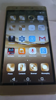 Wholesale 64bit octa core phone Huawei P9 plus MTK G smartphone Android inch clone phone P9 gb ram
