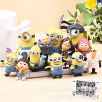 bagged shavings - 2016 new hot Despicable Me minions despicable me set small yellow man doll toys bag ornaments