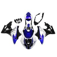 Wholesale Injection Fairings Fit BMW S1000RR Complete ABS Motorcycle Fairing Kit Motorbike Cowlings HP4 White Blue