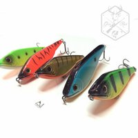 Wholesale 5pcs JerkBait M X Japan Lure Pike Buster Mustad Hooks Jerk Bait Fishing Lure Hard Bait g mm Bass Pike Lure