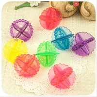 Wholesale 6pc Magic Hair Removal Laundry Ball Clothes Personal Care Hair Ball Washing Machine Ball Chemicals Dryer Ball