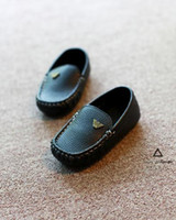 Wholesale Children shoes spring autumn kids casual shoes girls boys Non slip tendon sneakers kids PU leather baby casual shoes